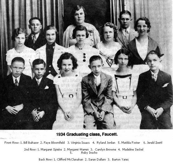 Faucett School 1934